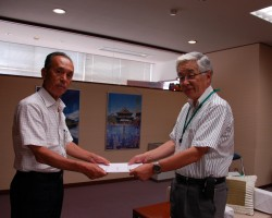 鷲沢市長に要望書提出